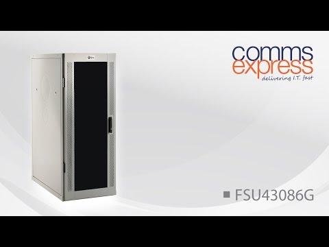 USpace 4210 30U 800w x 600d Data Cabinet