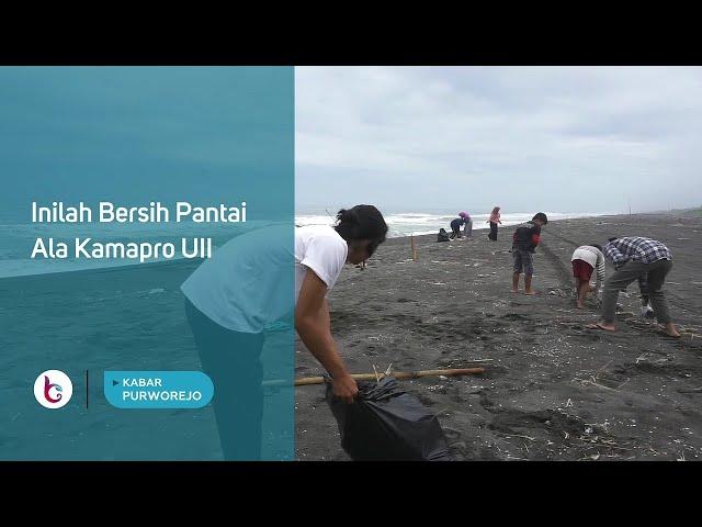 Inilah Bersih Pantai Ala Kamapro UII