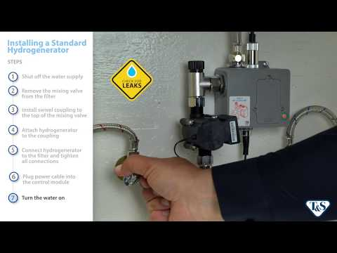 How To: Installing A Hydrogenerator On A Below-Deck Sensor Faucet