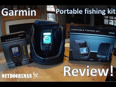 Garmin Portable Fishing Kit REVIEW!