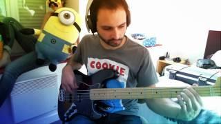 Gavin Harrison - Hatesong/Halo  (bass cover)