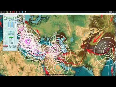 7/05/2018 -- Large M6.2 earthquake strikes exact warned area -- West Coast California volcanoes move