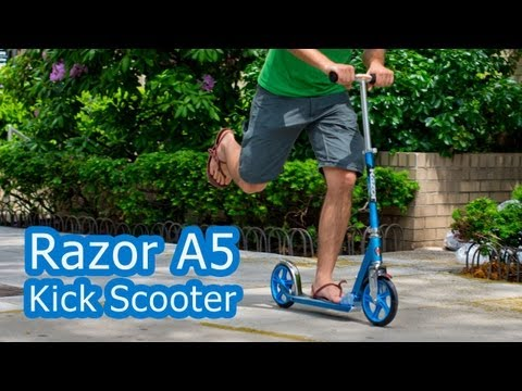 Razor A5 Kick Scooter Video Review Video