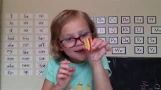 Mini Gummy Food Taste Test