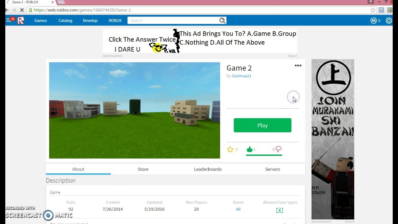 How to increase the amount of Maximum players on ROBLOX ...