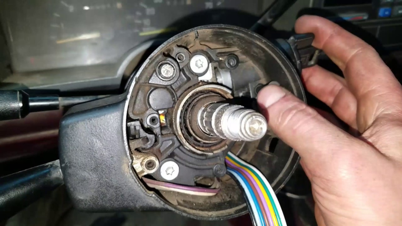 hight resolution of installing a turn signal switch on a 1993 chevy k2500