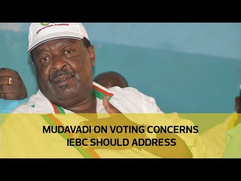 Mudavadi on voting concerns IEBC should address