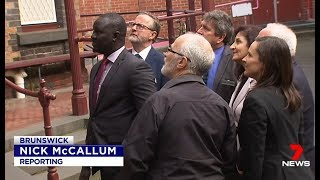Seven News. Marxist Mayors Declare No African Gangs.(Melbourne)