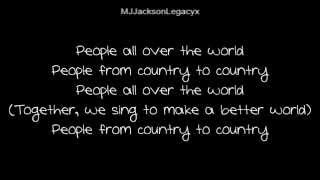 Michael Jackson - People of the World (New Song 2014)