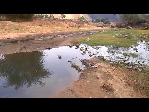 River Pollution Due To Coal Mining.