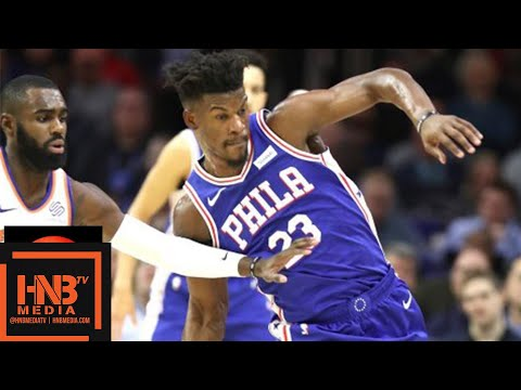 Philadelphia Sixers vs New York Knicks Full Game Highlights | 11.28.2018, NBA Season