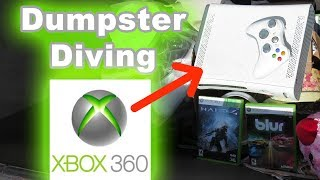 Dumpster Diving #43 Found Xbox 360