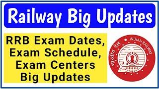 Railway Big Updates - Exam Date, Exam Centers etc   www.rrbkolkata.gov.in   Railway Group D 2018