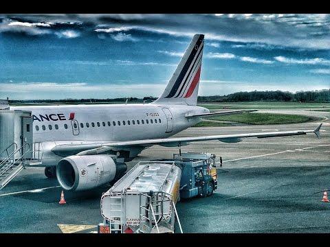 Air France | Airbus A318/A320 | NTE-CDG-AMS