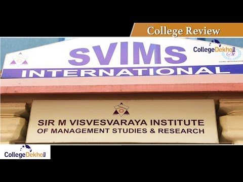 Sir M Visvesvaraya Institute of Management Studies & Researc