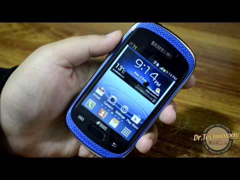 Samsung Galaxy Music Duos GT-S6012 - Unboxing & Quick Look