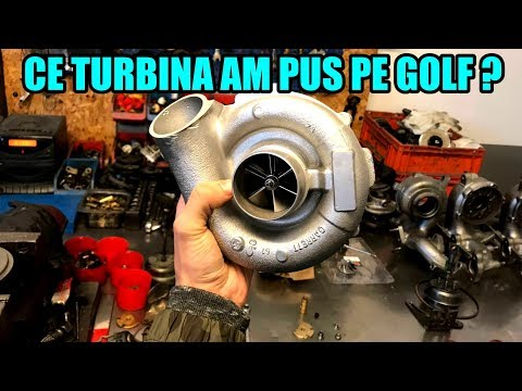 Ce TURBINA am pus pe GOLF ? - CLIP COMPLET !! - Upgrade & Power