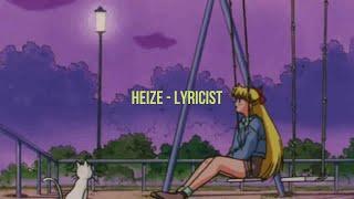 Heize - Lyricist [english lyrics aesthetic]