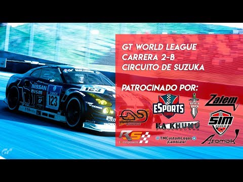 🏆 GT WORLD LEAGUE 🏆 Carrera 2 - B  | Circuito de Suzuka | Gran Turismo Sport PS4🔴 thumbnail