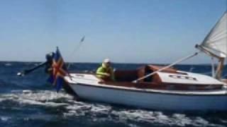 Folkboat speed record!