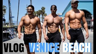 Vlog : Venice Beach Shoot | Cheat Meal | Ft Bodytime  &  Jay Cutler