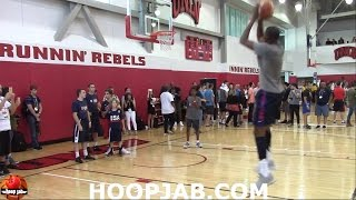 Kevin Durant Working On His Shot. USA Basketball Practice 2016.HoopJab