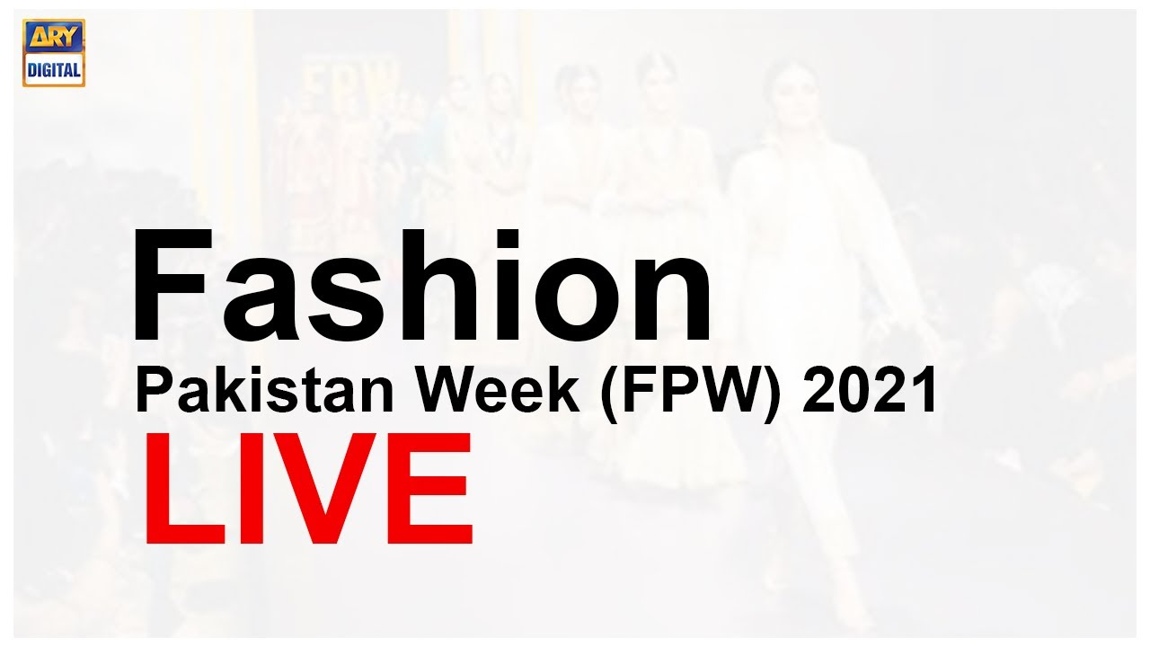 Download Day 1 of Fashion Pakistan Week (FPW) 2021, live.