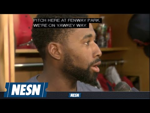 Jackie Bradley Jr. Talks About Keeping His 20-Game Hitting Streak Going