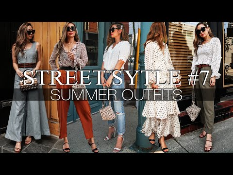 STREET STYLE #7 | SUMMER OUTFITS thumbnail