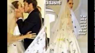 Бред Питт женился!!! На ком женился Бред Питт!!!Brad Pitt married  Свадебное платье!!!