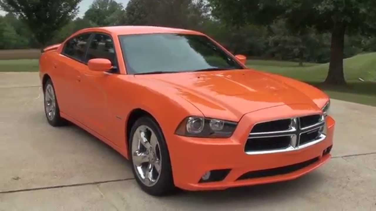 Hd Video 2014 Dodge Charger Rt Header Orange Hemi Used For