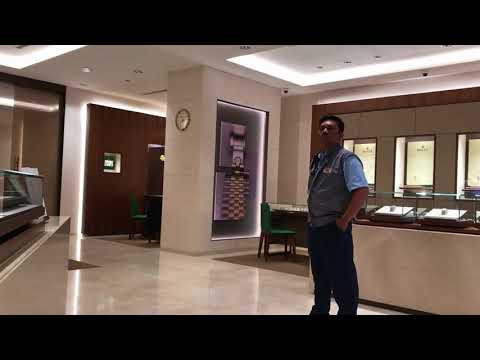 BUSTED filming in a Rolex boutique in Kuala Lumpur Malaysia