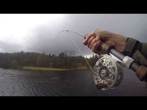 Fly Fishing at Ghyll Head trout fishery in the Lake District