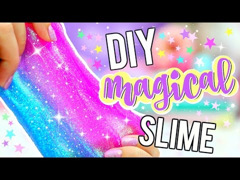 DIY GLITTER SLIME! How To Make MAGICAL UNICORN SLIME!