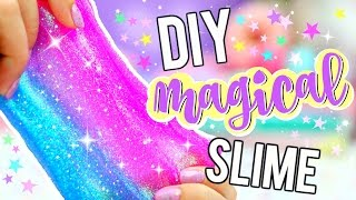 DIY GLITTER SLIME! How To Make MAGICAL UNICORN SLIME! thumbnail