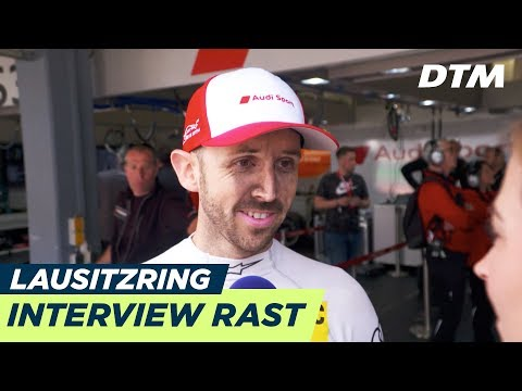 René Rast in good health! - Interview (ENG) after heavy crash - DTM Lausitzring 2018