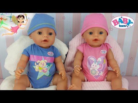 Muñecos Baby Born Interactivos De Bandai Niño Y Niña Juguetes Baby