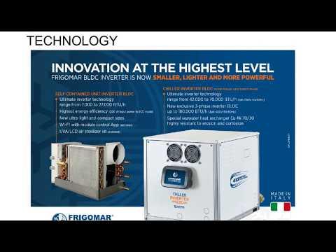 Titan Marine Frigomar Air Conditioner Authorized Dealer SXM | Frigomar Chiller Inverter