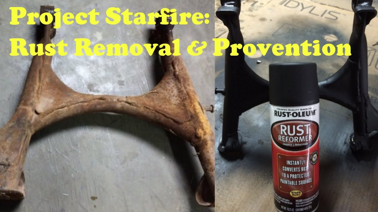 Rust Removal Spray Paint