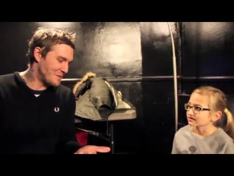 Kids Interview Bands - Brian Fallon (The Gaslight Anthem, The Horrible Crowes)
