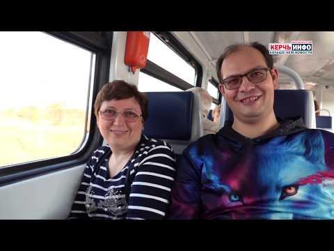 """Первая """"ласточка"""" запущена: в Анапу из Керчи отправился рельсовый автобус"""