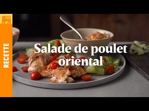Salade de poulet à l'orientale