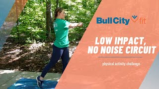 LOW IMPACT, NO NOISE CIRCUIT | an apartment safe circuit by Bull City Fit