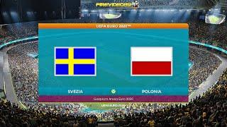 Pes 2021 UEFA EURO 2020 Svezia VS Polonia