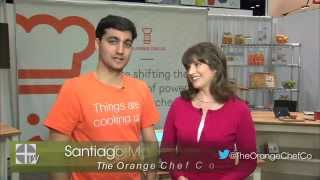 The Orange Chef Company Features the Prep Pad on Housewares-TV (Emilie Barta, Video Producer/Host)