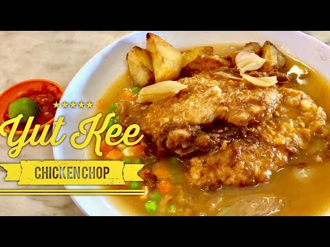 Cheap Eats Kuala Lumpur: Yut Kee Best Chicken Chop Roast Pork Chop Hailam Mee Malaysia