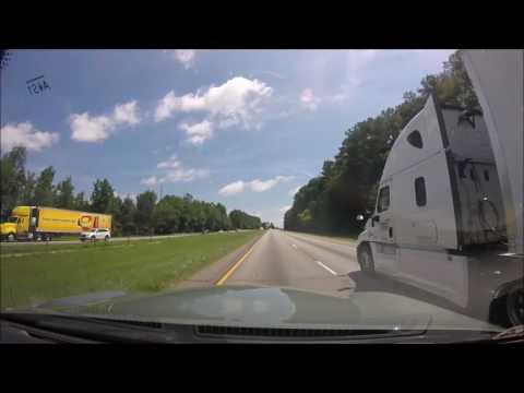 Timelapse Drive Atlanta, GA to Asheville, NC (2017) (HD)
