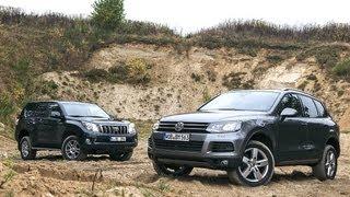 VW Touareg gegen Toyota Land Cruiser - Luxusbullen für jede Lebenslage