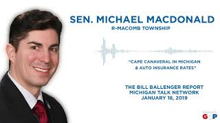 Sen. MacDonald appears on The Ballenger Report
