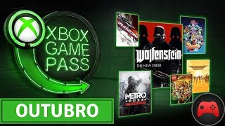 [Oficial] Xbox Game Pass - Outubro 2018
